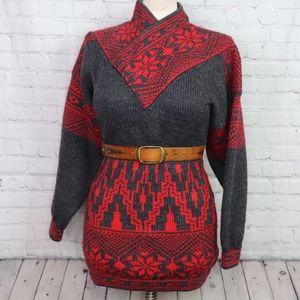 VINTAGE: Norwegian Knit Sweater Dress